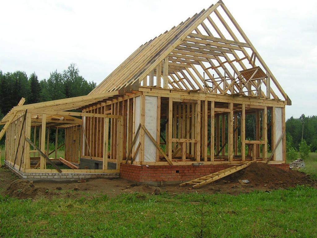 издевается поэтапное строительство дачного дома фото расположен терский